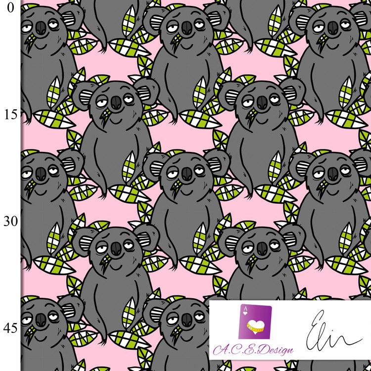 Koala Fairytale pink jersey