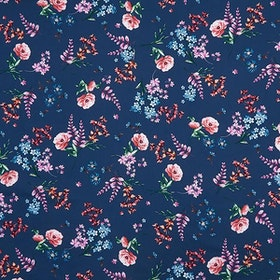 Gütermann Ring a roses Blooms Lupiner blå