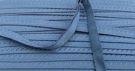 Trosresår med dekoration gråblå