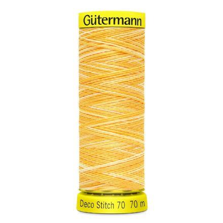 GÜTERMANN Deco Stitch sytråd 70 m, 10 olika färger OBS! BESTÄLLNINGSVARA