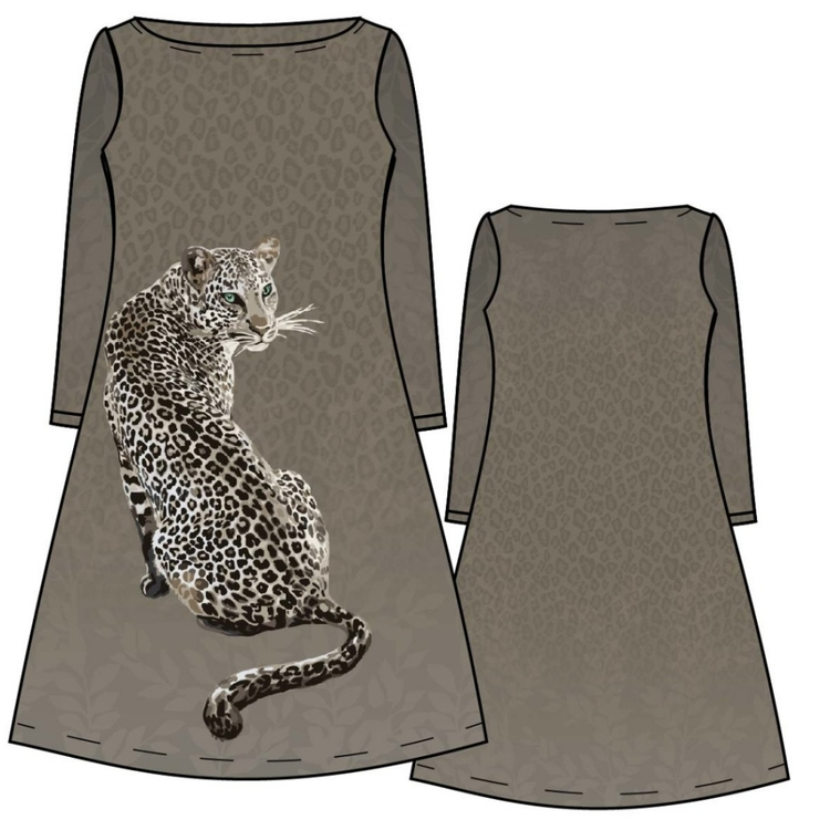 Leopard panel