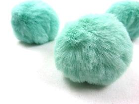 Pom pom Mintgrön 60 mm omkrets