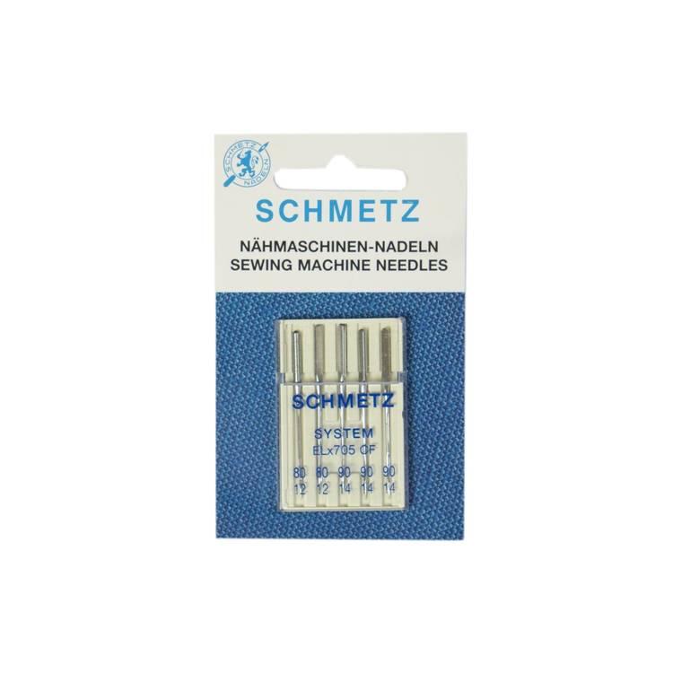 Schmetz Symaskinsnålar 80/12 \ 90/14 (ELx705 CF)