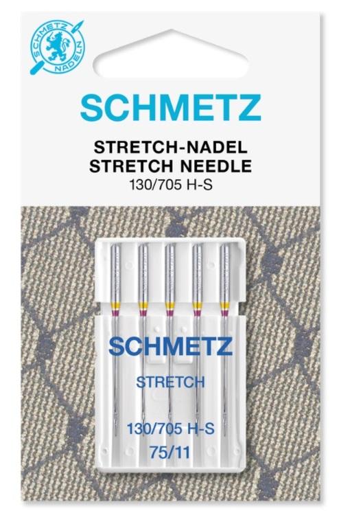 Schmetz Symaskinsnålar Stretch 75/11 (130/705 H-S)