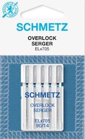 Schmetz Symaskinsnålar Overlock 90/14 (ELx705)