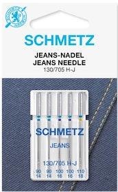 Schmetz Symaskinsnålar Jeans 90/14 \ 110/18 (130/705 H-J)