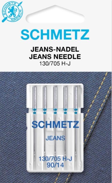 Schmetz Symaskinsnålar Jeans 90/14 (130/705 H-J)