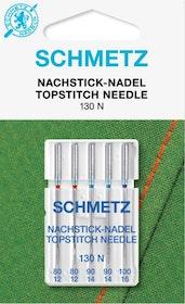 Schmetz Symaskinsnålar Topstitch 80/12 \ 100/16 (130 N)
