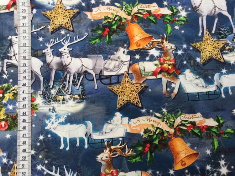 Jultomten och julsläden jersey