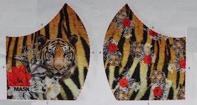 Tiger, tyg för ansiktsmask