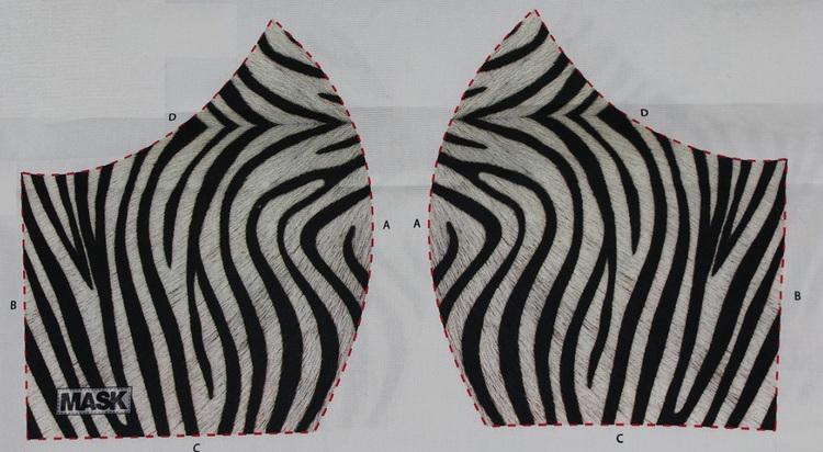 Zebra munskydd kit