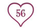Storlekslapp Hjärta (Barn)