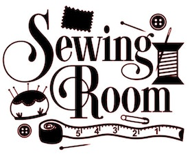 Sewing Room (skylt)