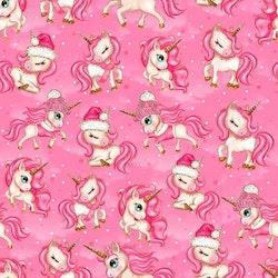 Vinterenhörningar rosa