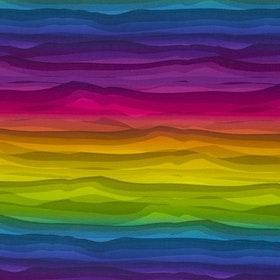 Wavy Stripes Multicoloured