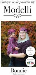 Modelli's Bonnie Basker med rosett stl 36 - 58 / Barn - Vuxen