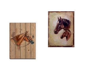 Tavla hästar
