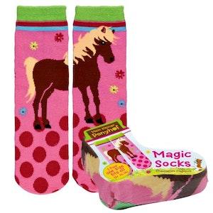 Magic socks rosaprickiga