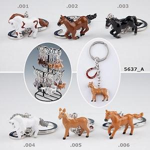Nyckelring Häst