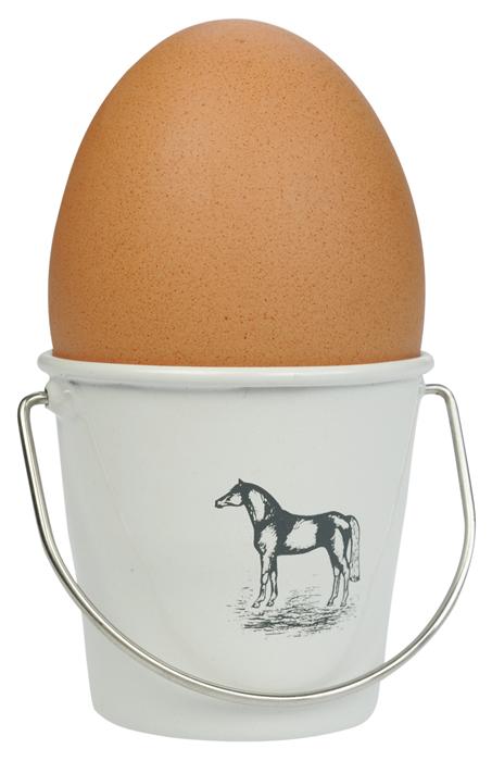 Ägg koppar 4 pack med  hästmotiv