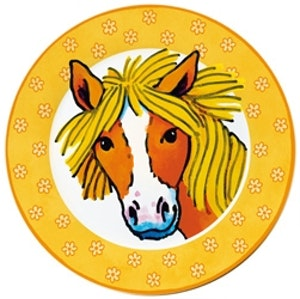 Tallrik Ponny Orange
