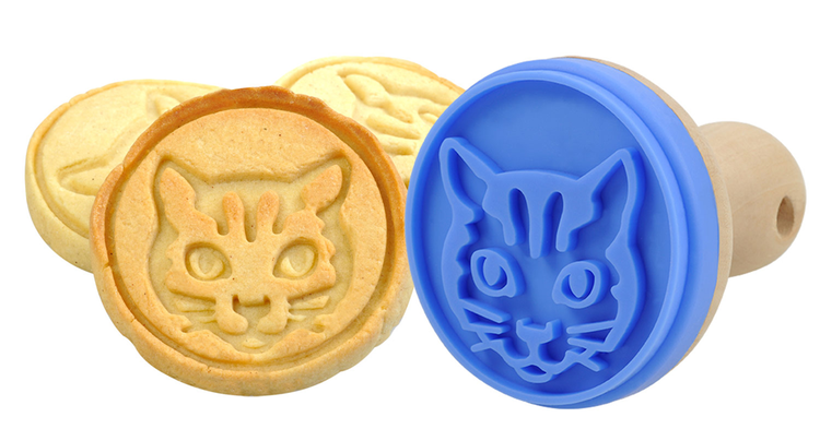 "Cookie Stamp ""Cat"" - baka kakor med kattmotiv"
