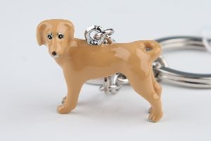 Labrador gold Nyckelring Doggy Love