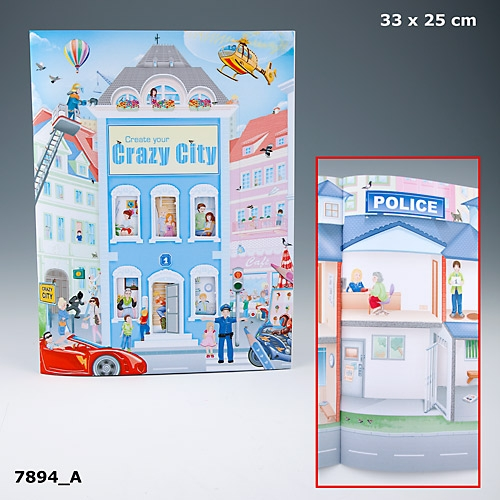 Crazy City Designbok