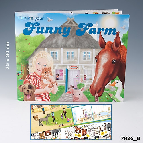 Funny Farm Designbok (B)
