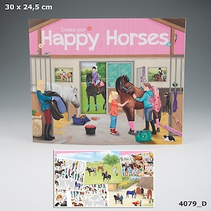 Create your Happy Horses (D)
