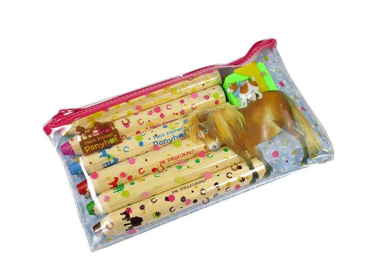 Färgpennor med pennvässare