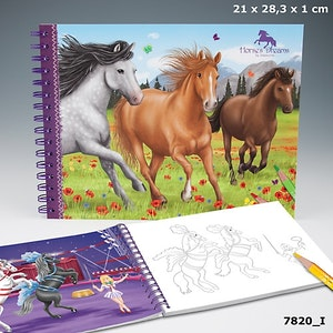 Horses Dreams Målarbok (I)