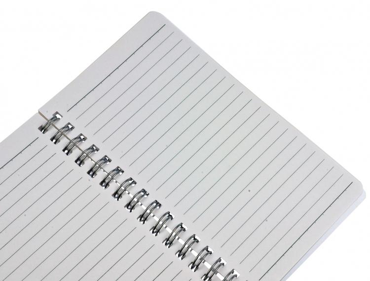 Anteckningsbok med penna med hästmotiv