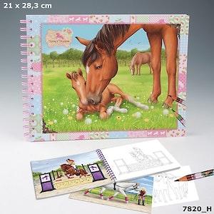 Horses Dreams Målarbok (H)