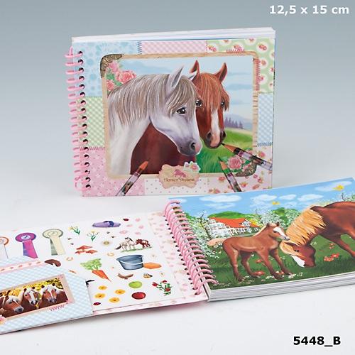 Fickmålarbok Horses Dreams (B)