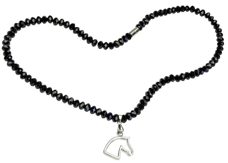 Halsband Svart Pärla