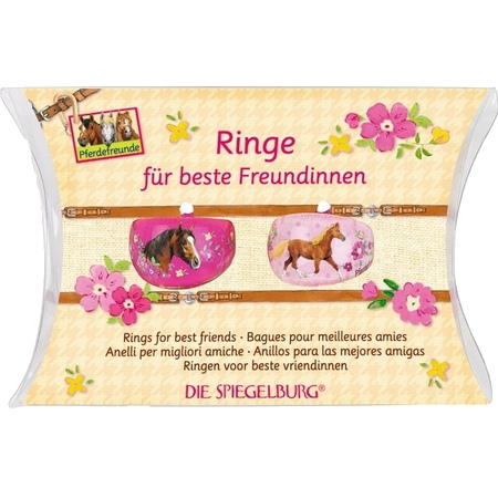 Rings for best friends med hästmotiv
