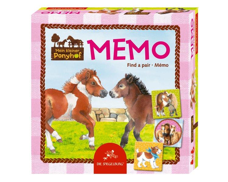 Memory med hästmotiv