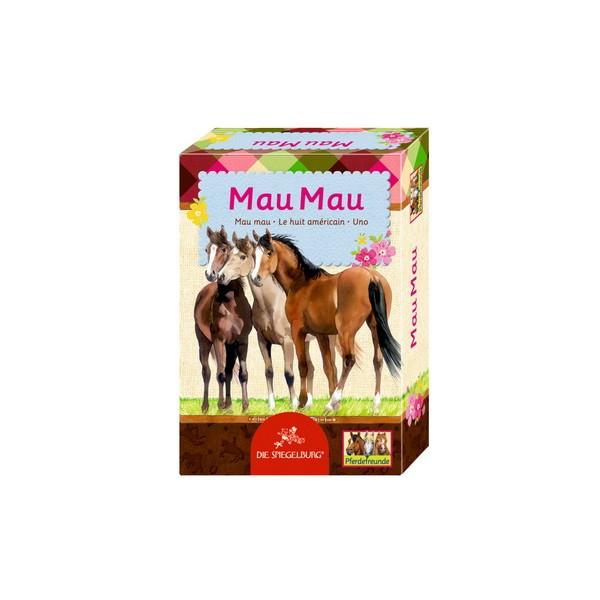 Kortspel Uno med hästmotiv från Die Spiegelburg