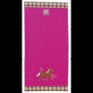 Handduk rosa