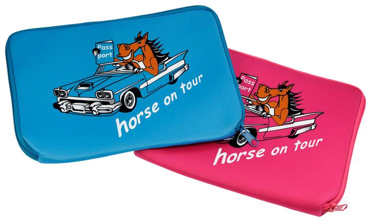 Hästpass väska med hästmotiv