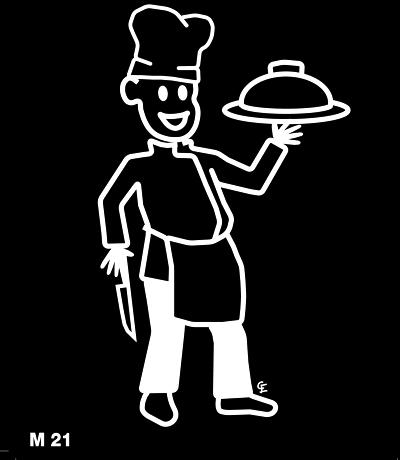 Kock – Funky Family – dekaler i unika karaktärer
