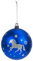 Julkulor häst