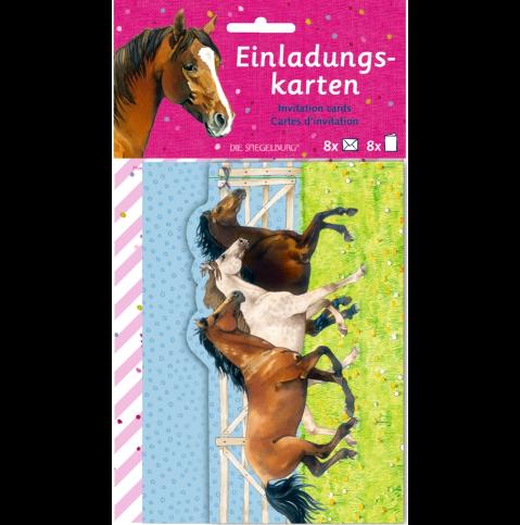 Inbjudningskort kalas från Die Spiegelburg