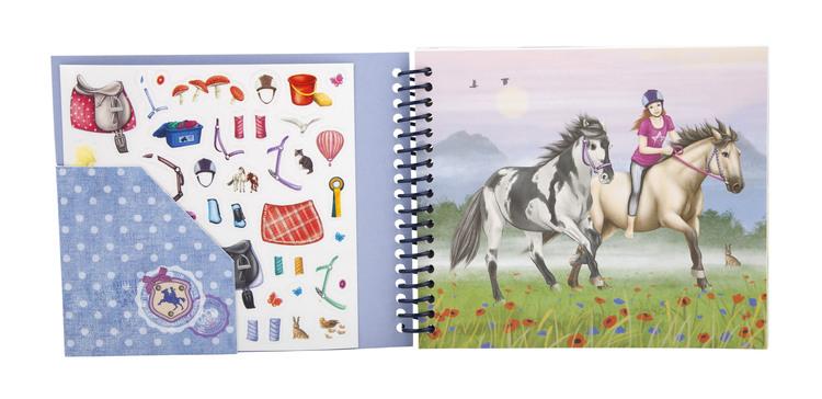 Fickmålarbok Horses Dreams