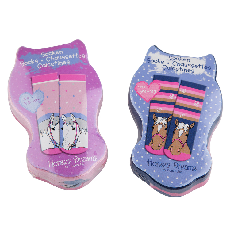 Horses Dreams Magic socks