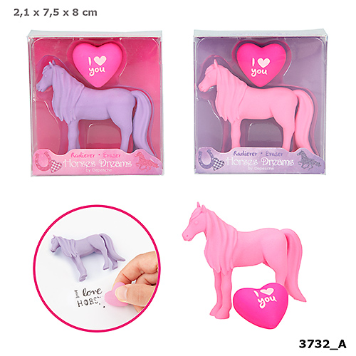 Suddgummi Häst & hjärta