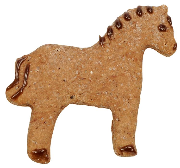Pepparkakshus Stall Baka pepparkakor i form av hästar