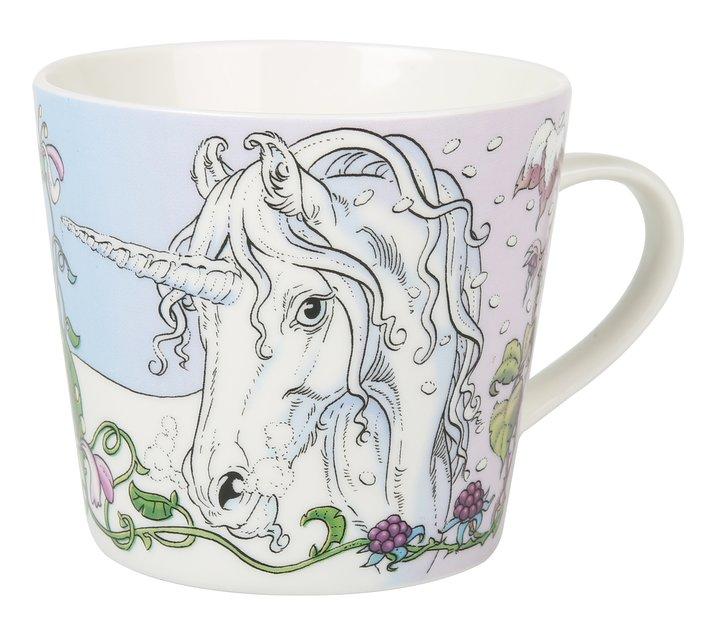 Mugg med hästmotiv - Lena Furberg Unicorn