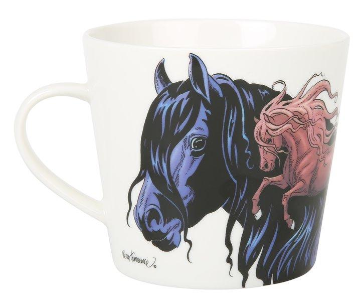 Mugg Lena Furberg Hästar